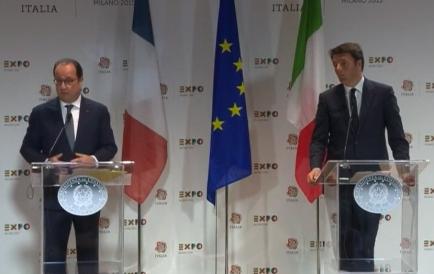 Hollande Matteo Renzi