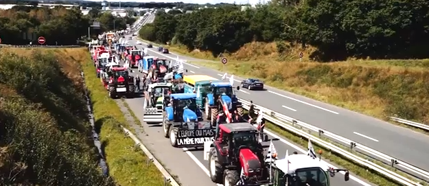 tracteurs manif