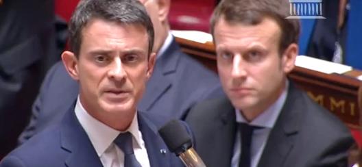 Valls Macron