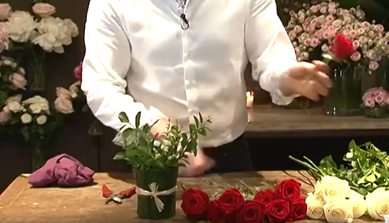 Fleurs Saint Valentin
