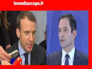 Macron Hamon Mediascope
