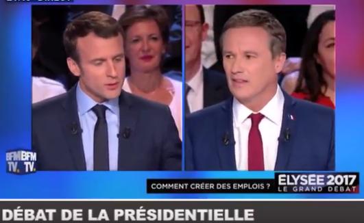 Macron - Dupont Aignan