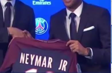 maillot Neymar