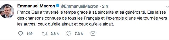 Macron Twiiter