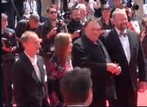 Depardieu Cannes