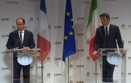 Hollande Matteo Renzi