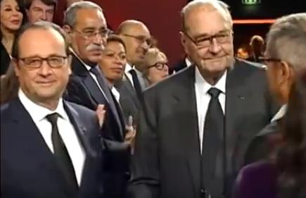 Hollande Chirac
