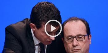 Hollande Valls