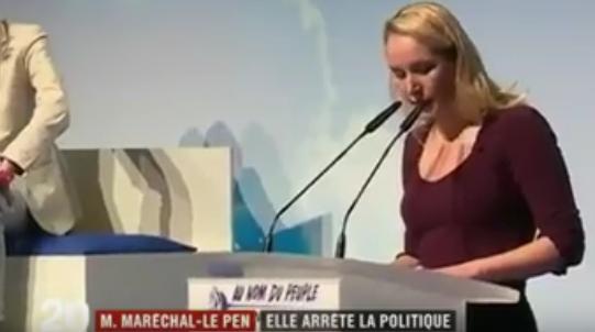 Marion Marechal Le Pen