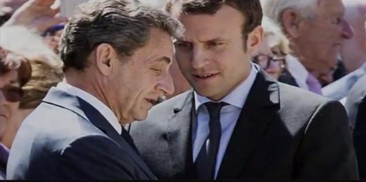Macron :Sarkozy