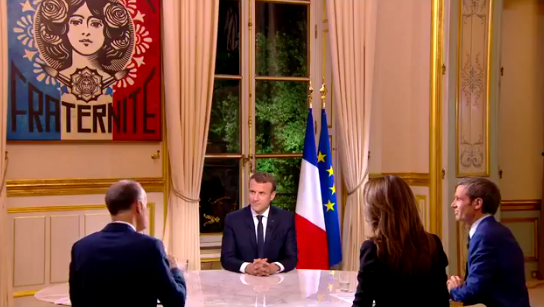 Macron TF1